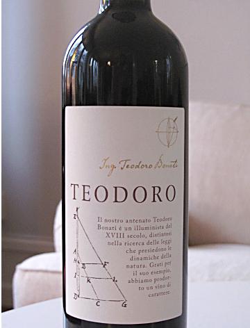 teodoro italienskt vin