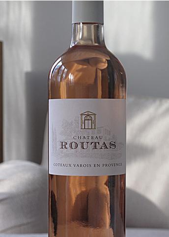 chateu routas franskt vin